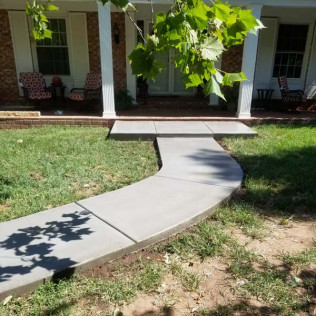 residential concrete services in Arkansas City, KS